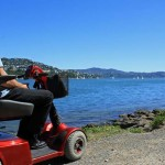 Mobility scooter Evans Bay
